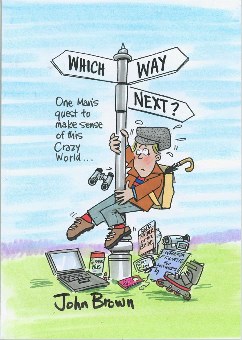 Which Way Next? by John Brown